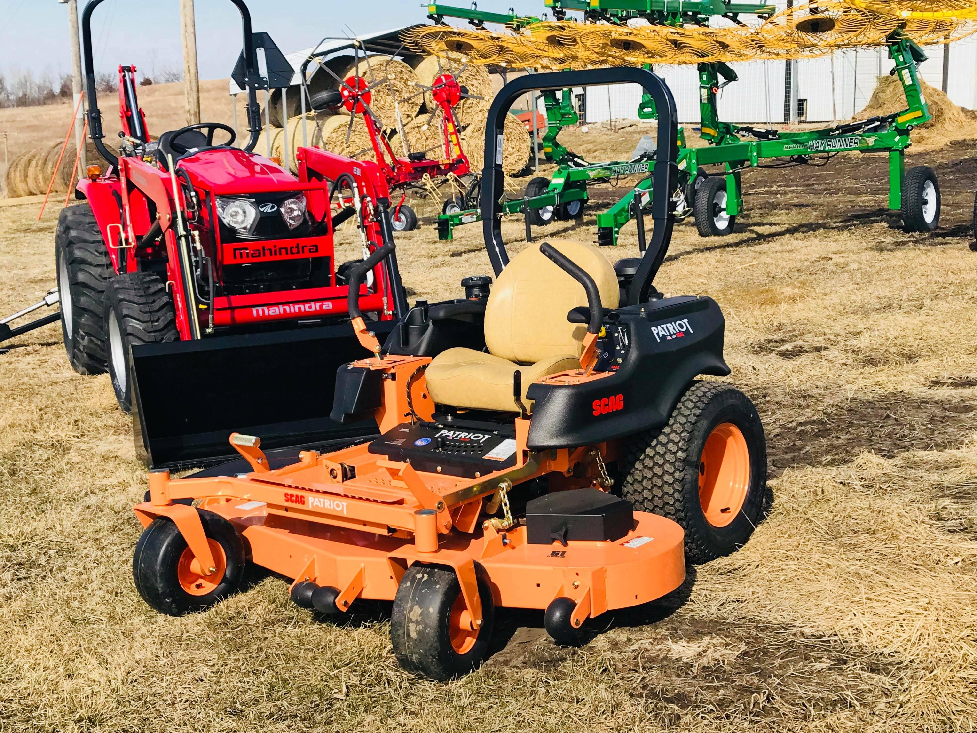 2018 Scag SPZ61-23FX Lawn and Garden