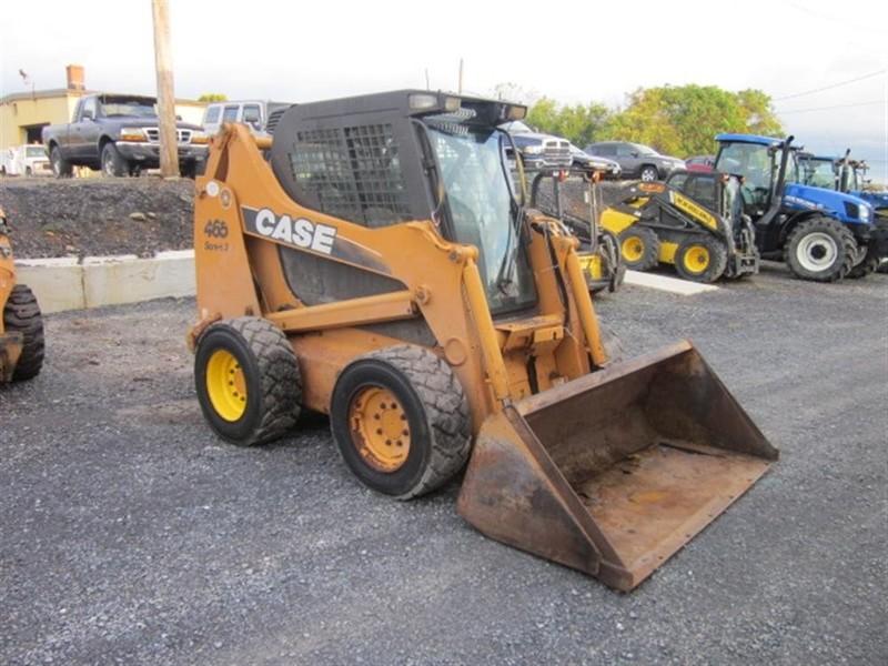 Case 465-3 Skid Steer