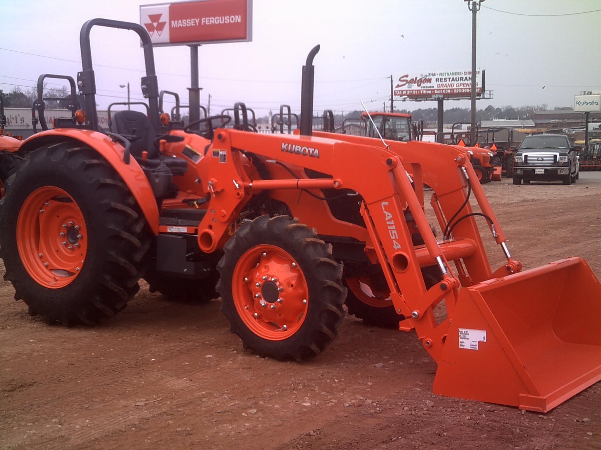 2021 Kubota M7060 Tractor