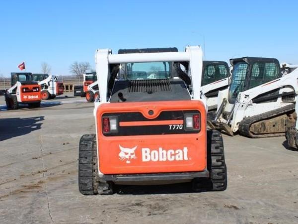 2014 Bobcat T770 Skid Steer