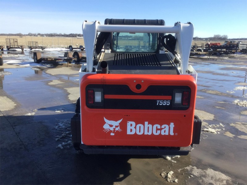2017 Bobcat T595 Skid Steer