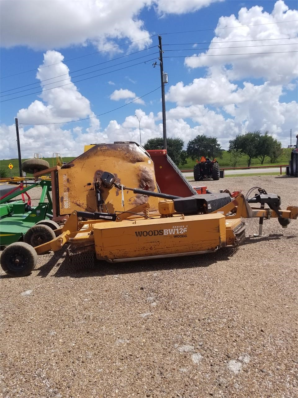 2008 Woods BW126 Rotary Cutter
