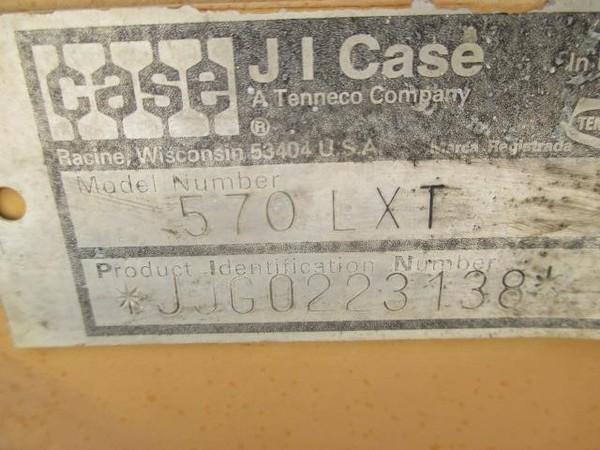 1995 Case 570L XT Backhoe