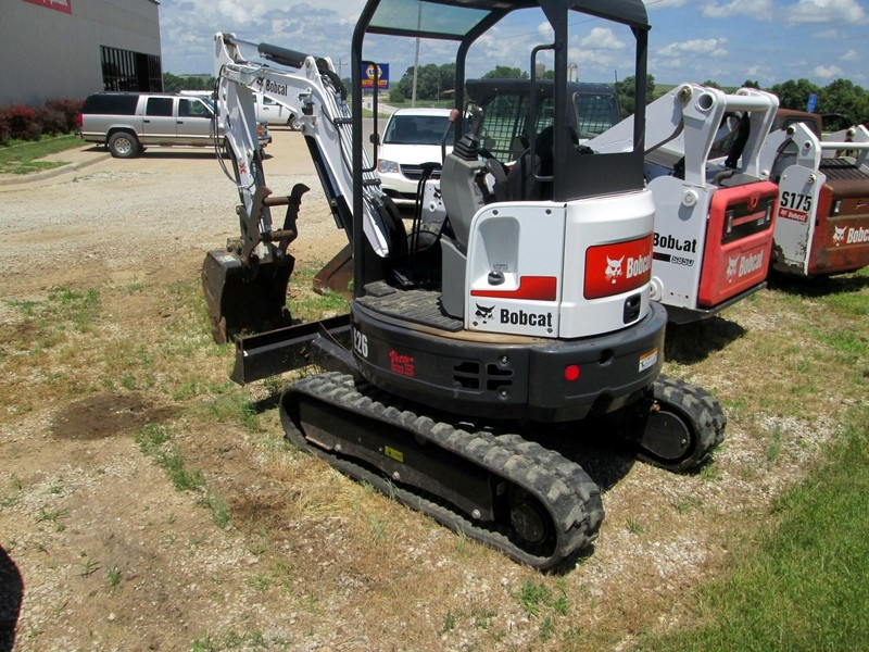2015 Bobcat E26 Excavators and Mini Excavator