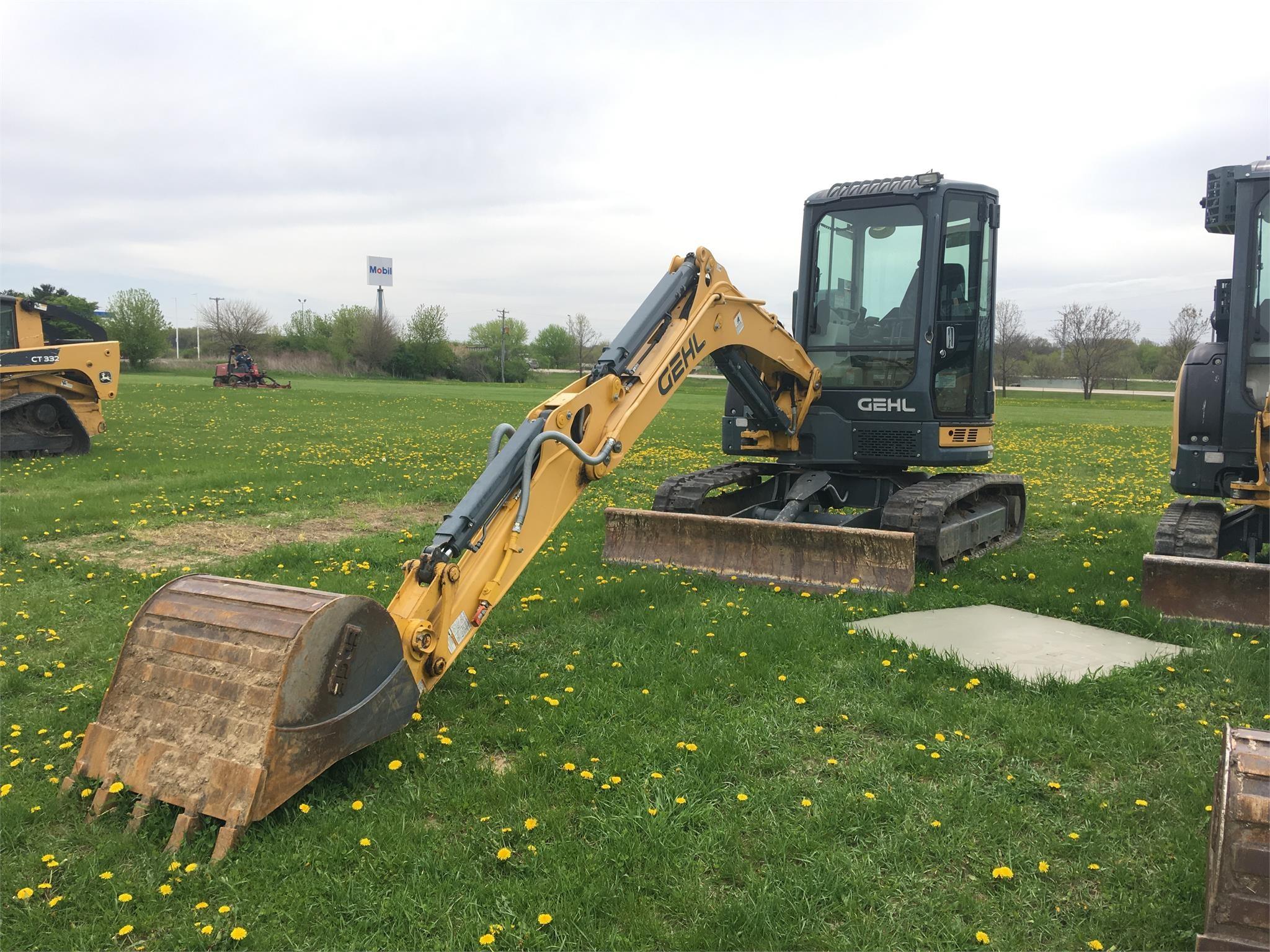 2013 Gehl Z45 Excavators and Mini Excavator