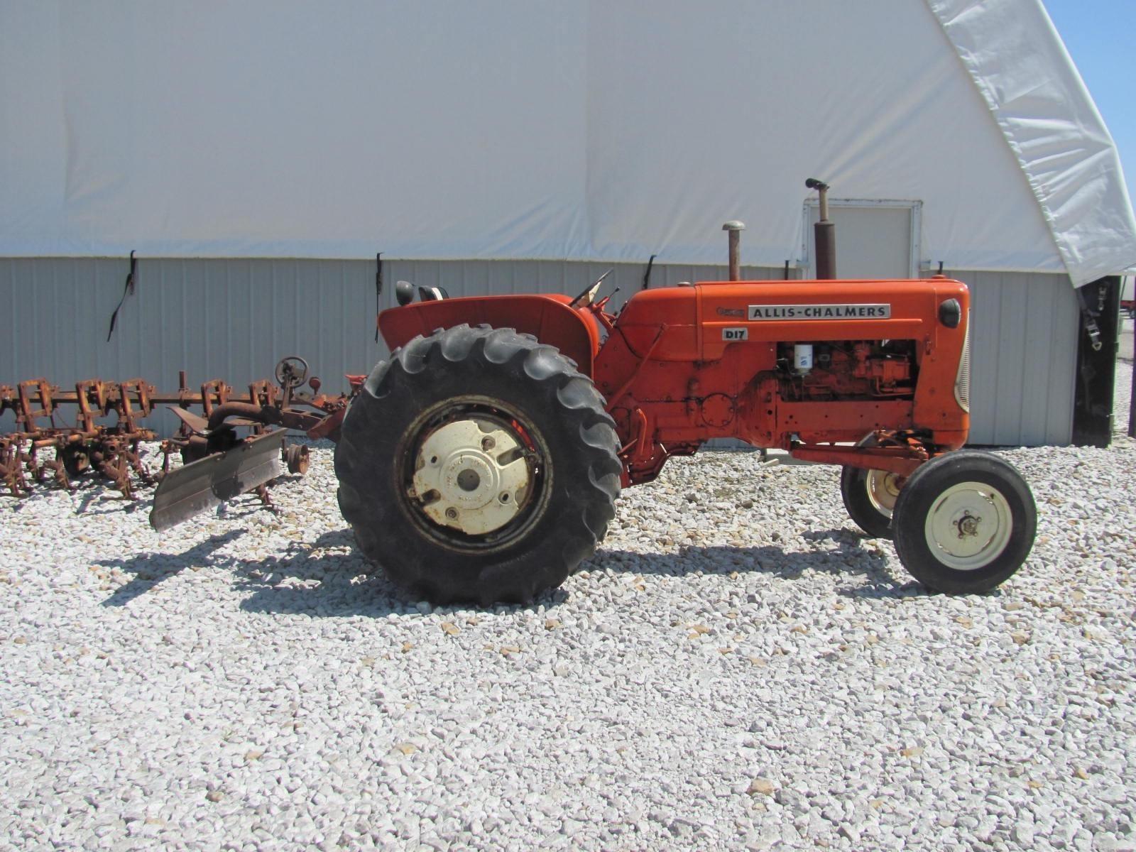 1962 allis chalmers d17 tractor veedersburg indiana 5 000 machinery pete 1962 allis chalmers d17 tractor