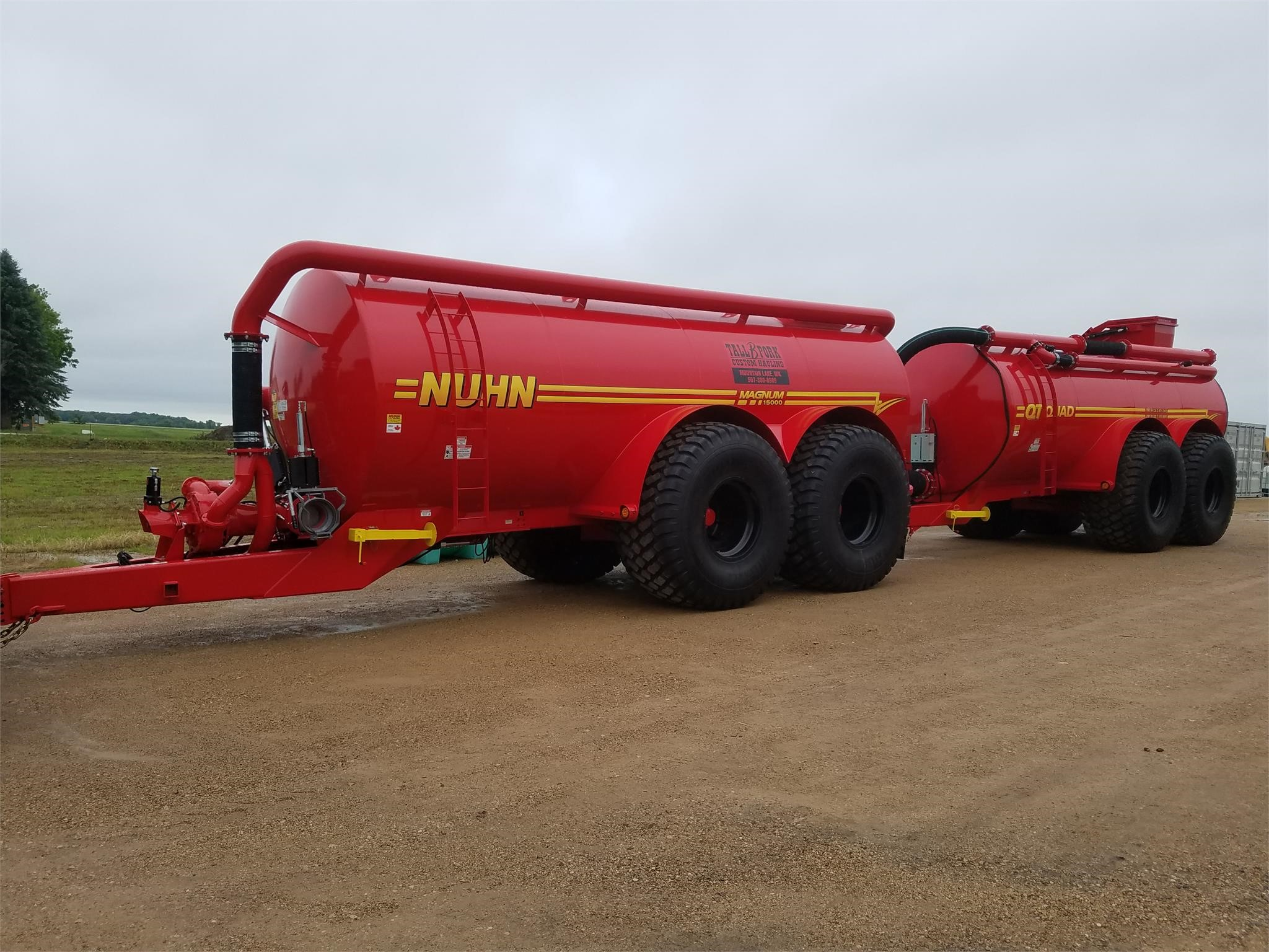 Nuhn Quad Train Manure Spreader