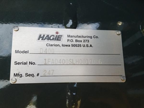 2017 Hagie D400 Miscellaneous