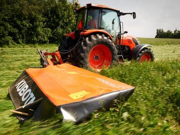 2019 Kubota DM1017 Disk Mower