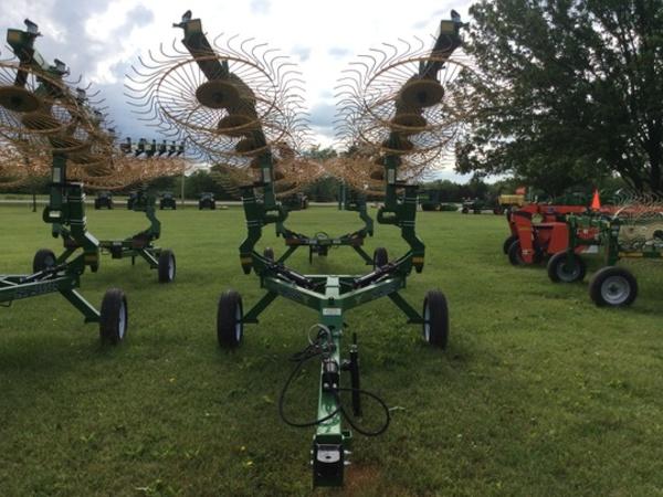 2017 Ogden Metalworks HR10H Rake
