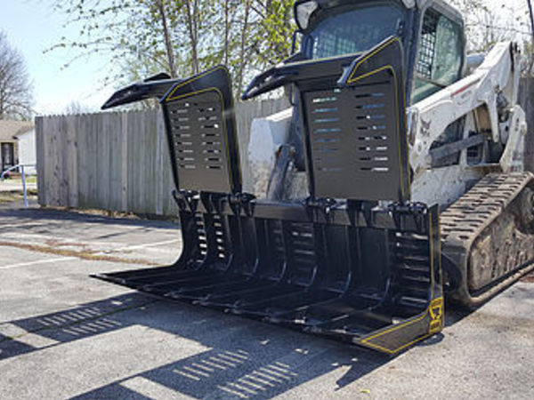 2017 M&M Brush Hawk Loader and Skid Steer Attachment