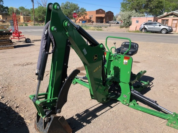 John Deere Backhoe Attachment >> 2017 John Deere 485a Backhoe And Excavator Attachment Alamosa