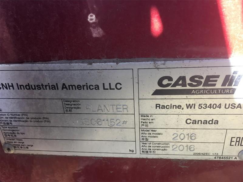 2016 Case IH Precision Disk 500 Air Seeder