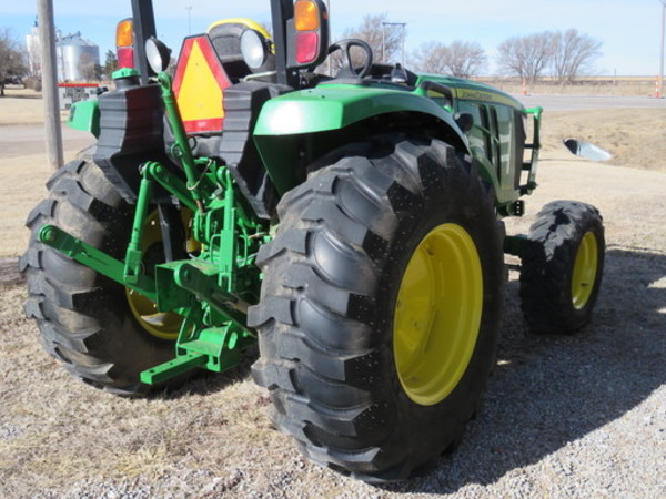 2015 John Deere 4066r Tractor Garden City Ks Machinery Pete