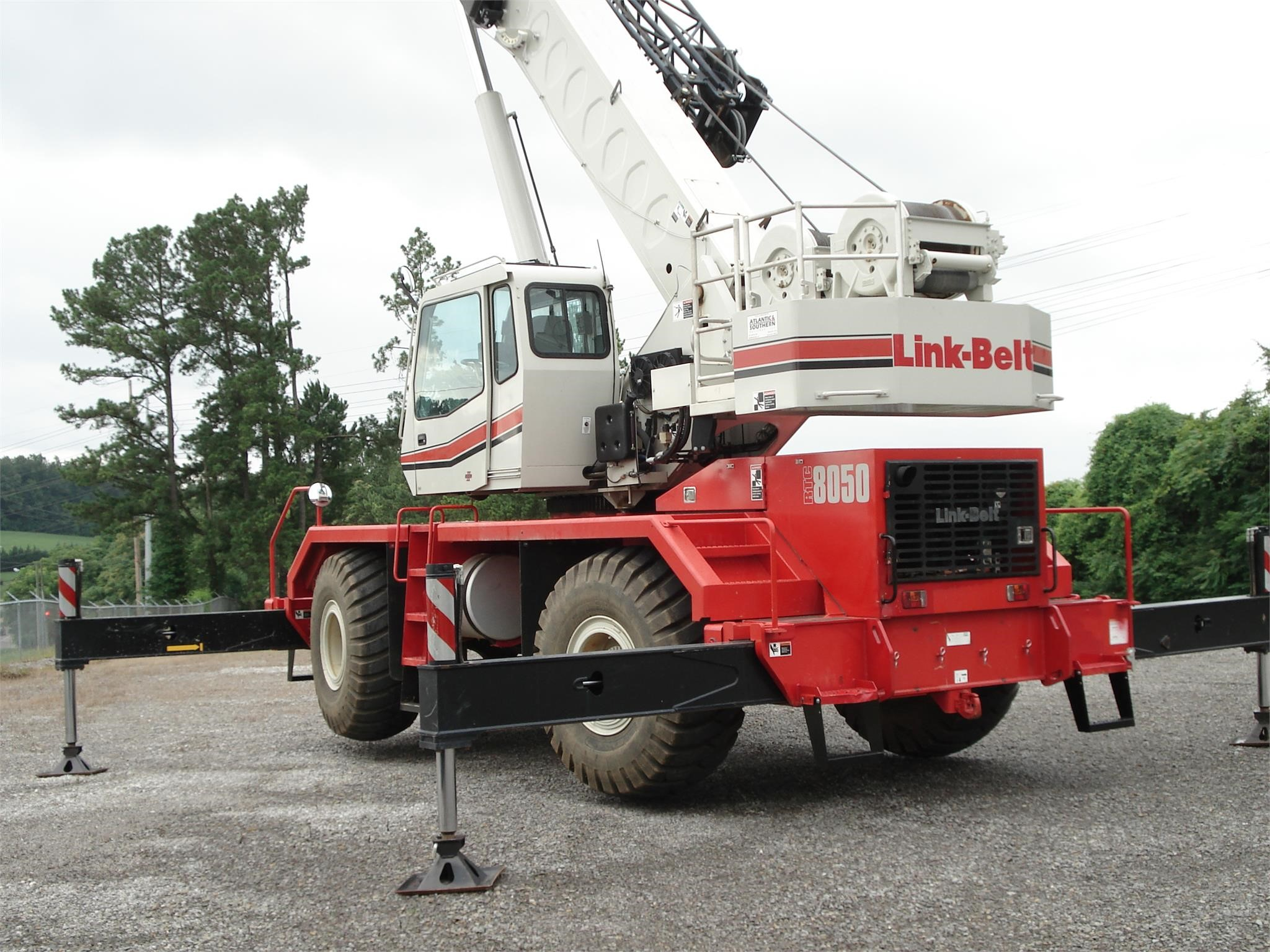 2017 Link-Belt RTC-8050S II Miscellaneous