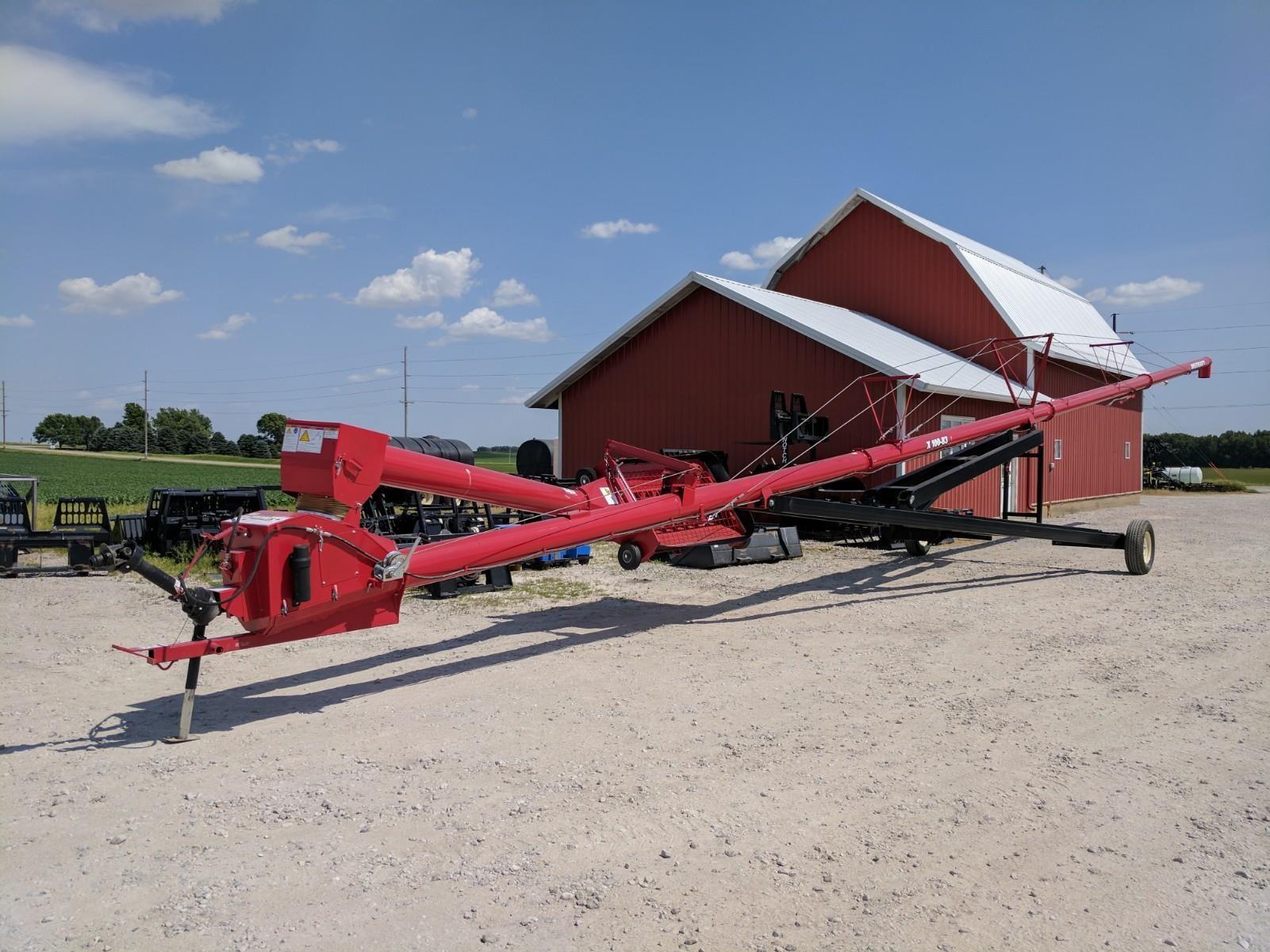 Wheatheart X100-83 Augers and Conveyor