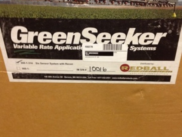Redball GreenSeeker  Variable Rate Aplication System Precision Ag