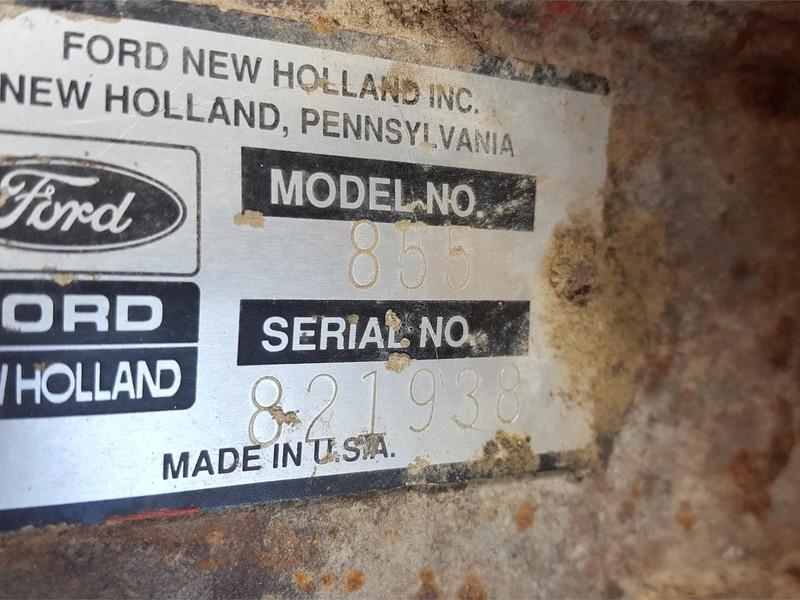 New Holland 855 Round Baler