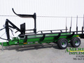 2015 Frontier BC1110 Bale Wagons and Trailer