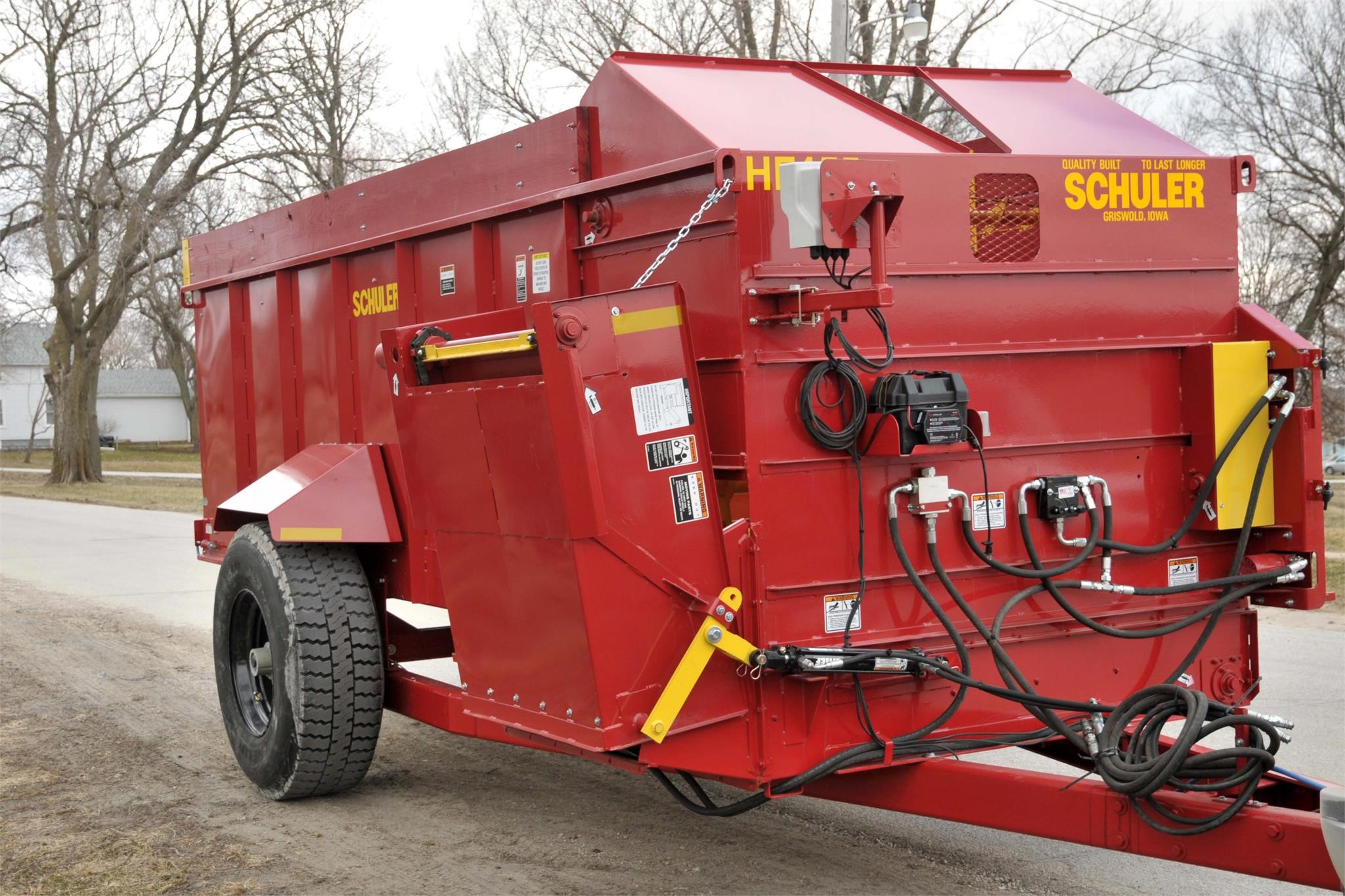 2020 Schuler HF455 Feed Wagon
