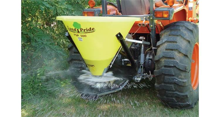 2020 Land Pride FSP700 Pull-Type Fertilizer Spreader