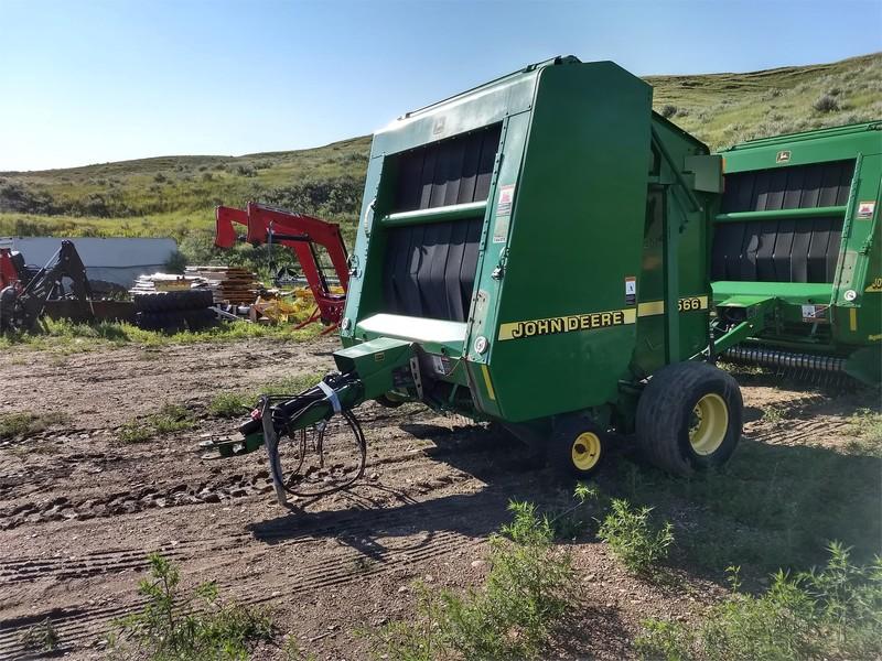 John Deere 566 Round Balers for Sale | Machinery Pete