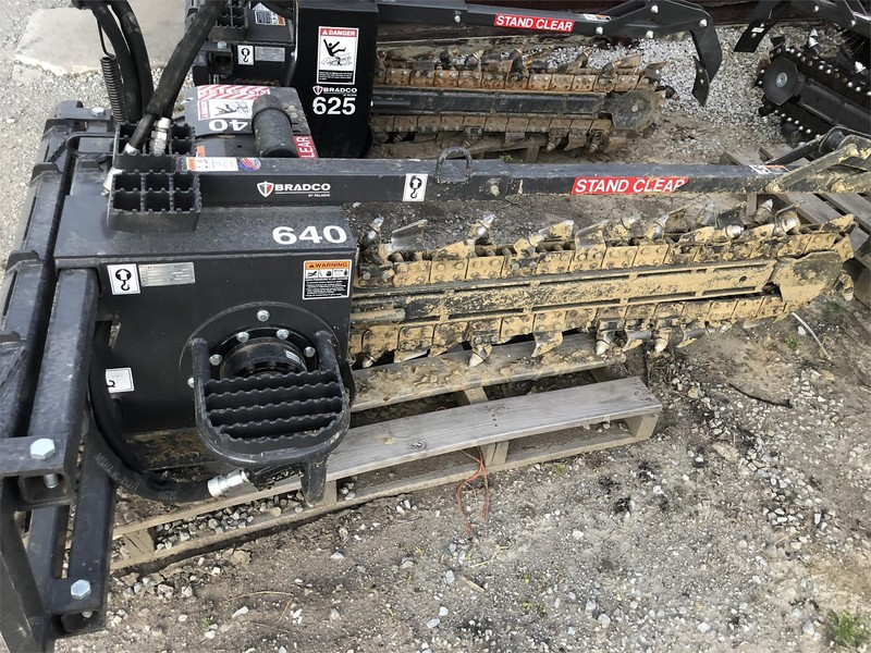 2017 Bradco 640 Backhoe