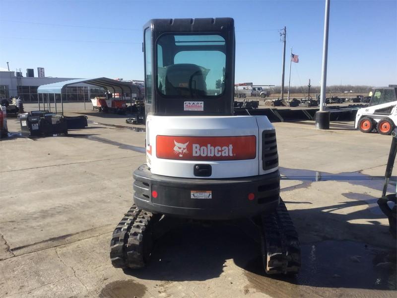 2016 Bobcat E35 Backhoe