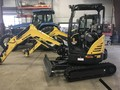 2017 New Holland E26C Excavators and Mini Excavator