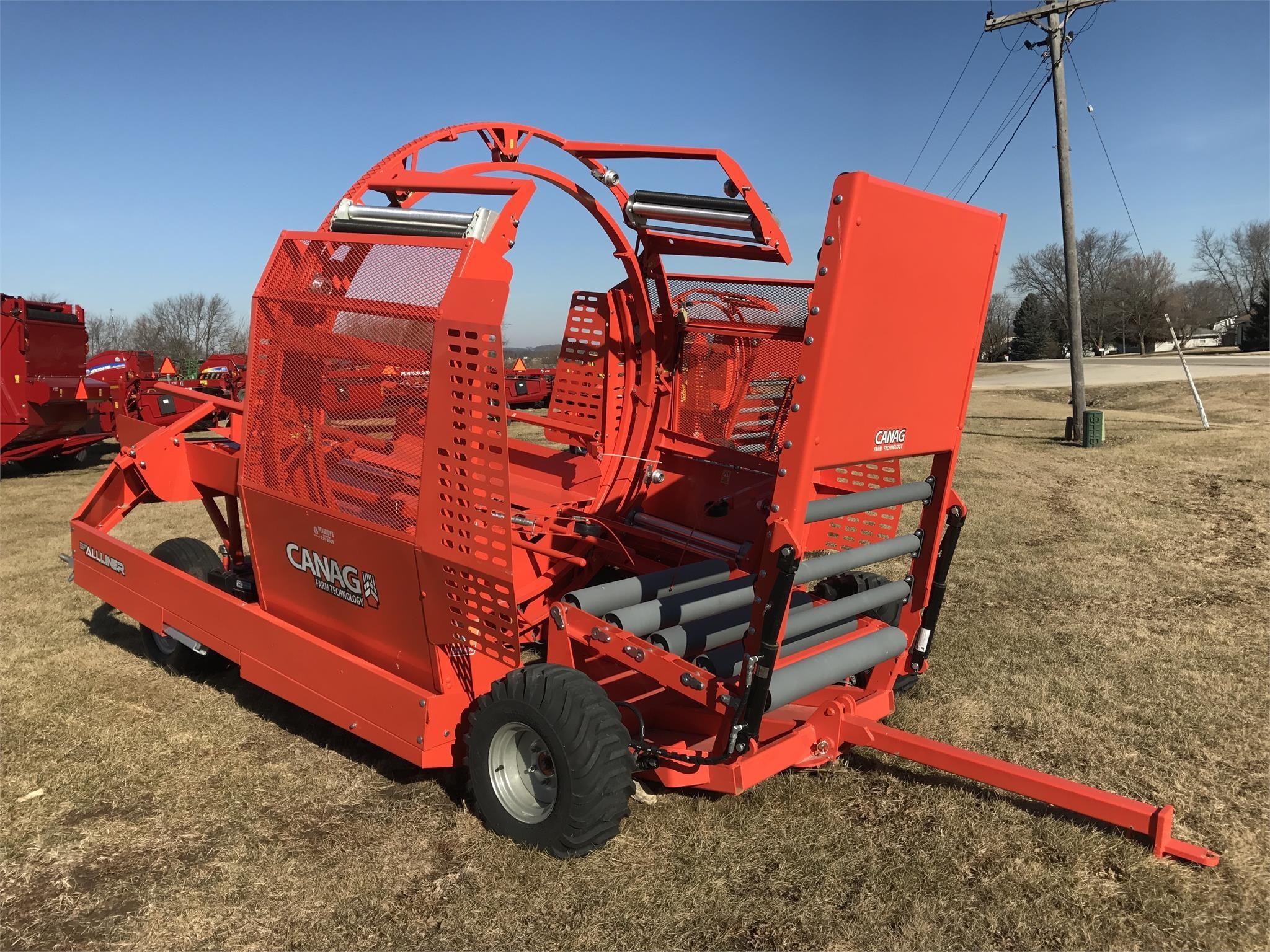 2016 CANAG FARM TECHNOLOGY ALLINER Bale Wrapper