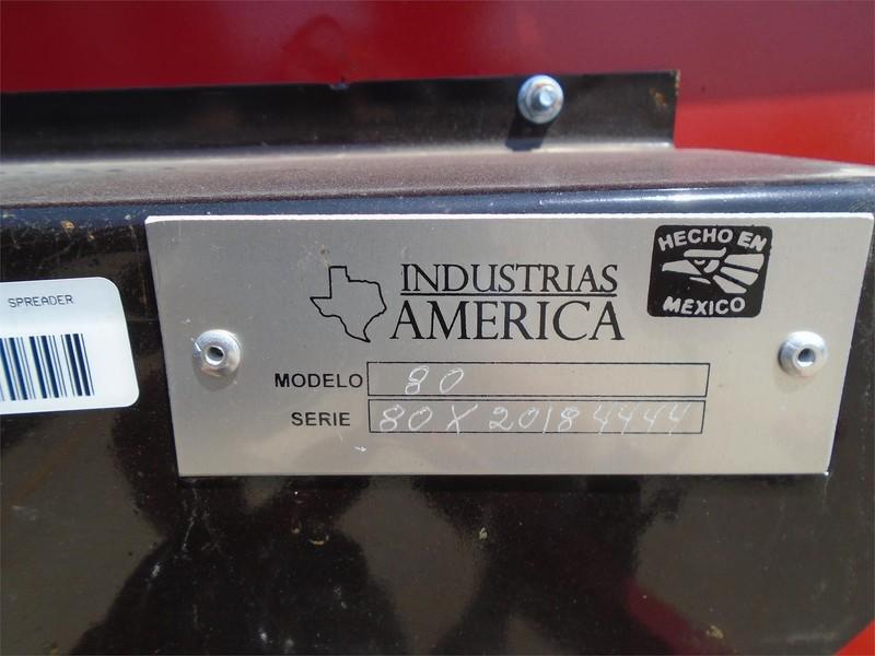 2018 Industrias America SS80 Manure Spreader