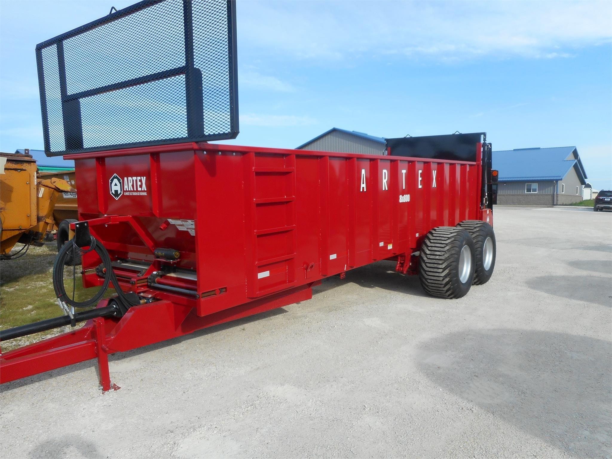 2020 Artex SBX800 Manure Spreader