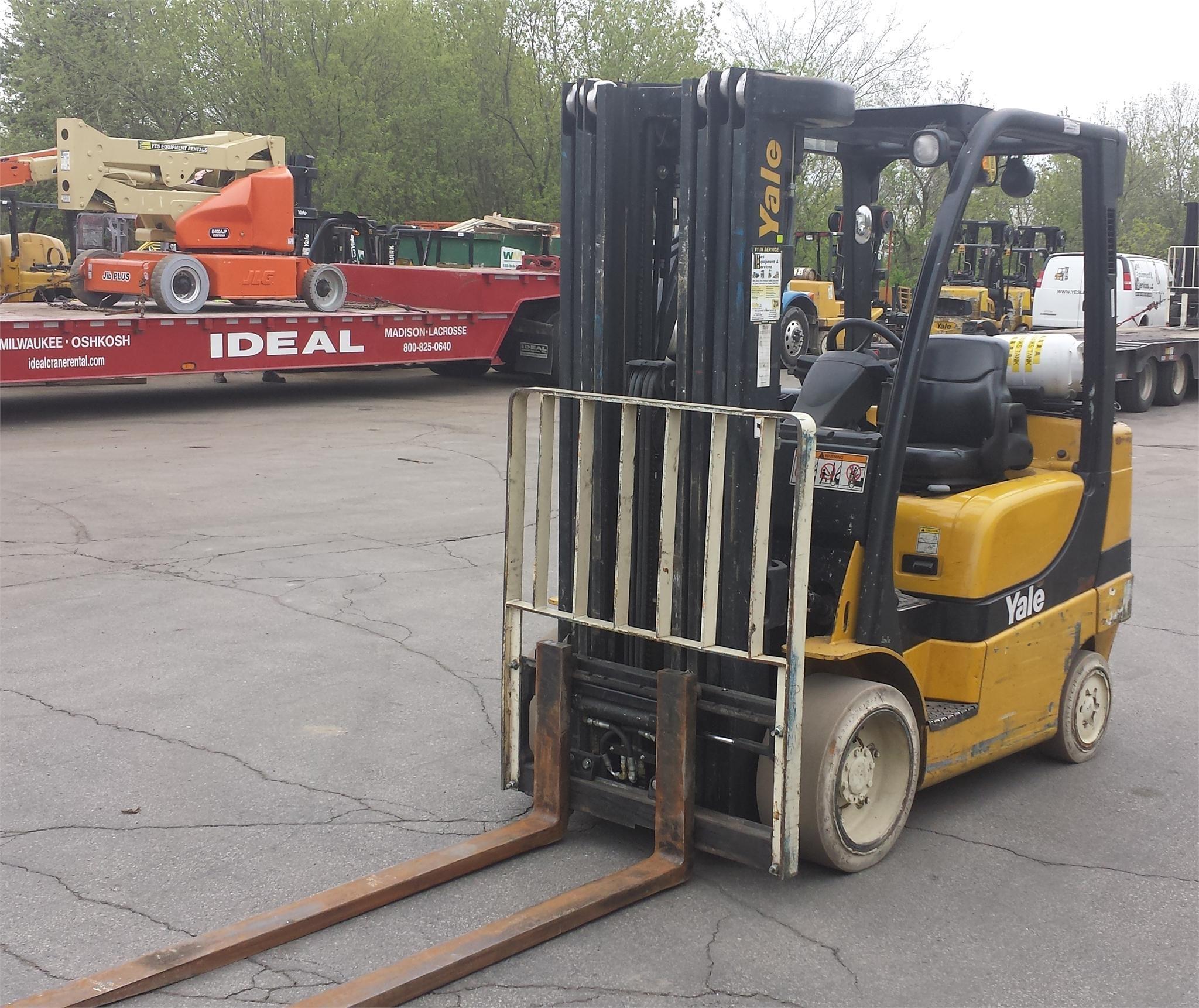 2007 Yale GLC060VX Forklift