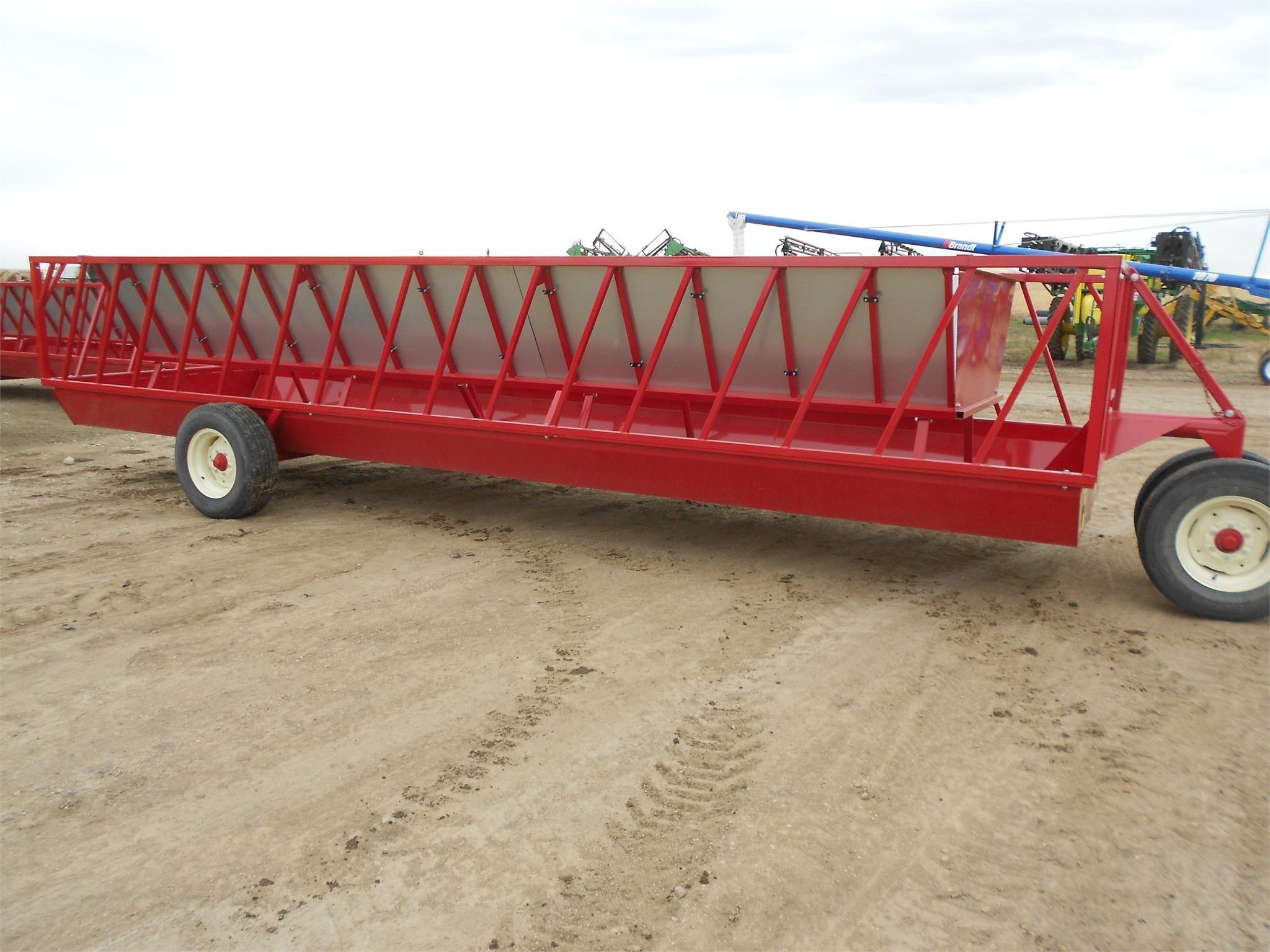 H & S FWS3A Feed Wagon