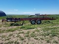 Morris 881 Bale Wagons and Trailer
