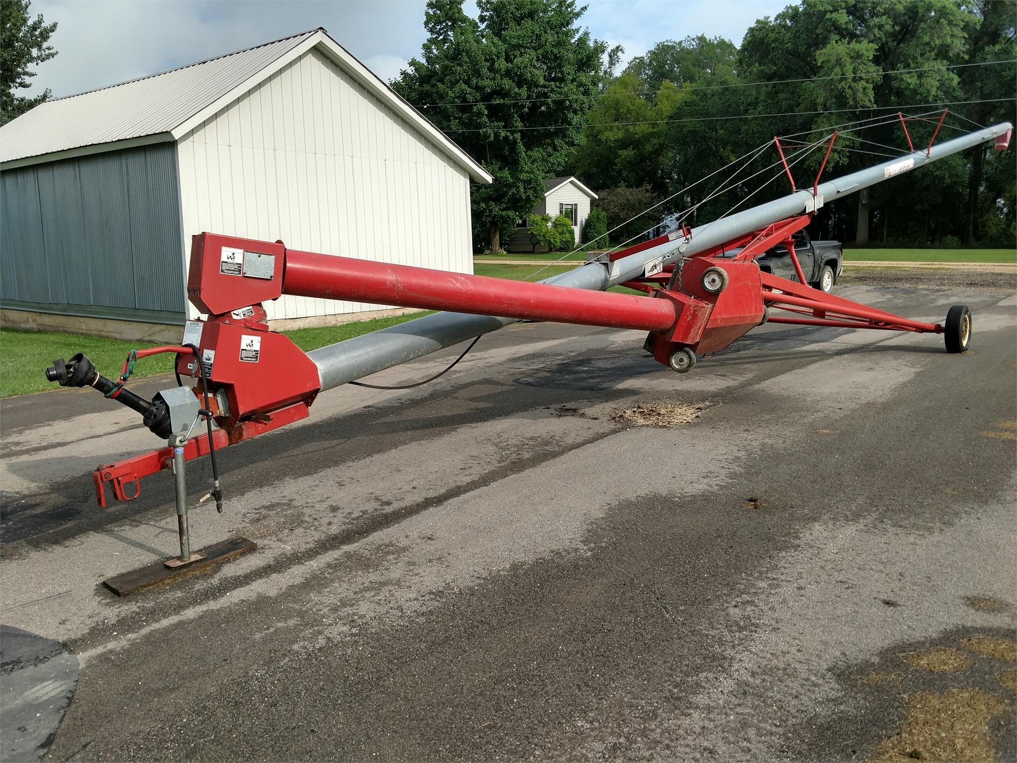 GSI 10x72 Augers and Conveyor