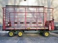 H & S 410 Bale Wagons and Trailer