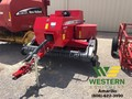 Massey Ferguson 1840 and Steffan Accumulator Small Square Baler