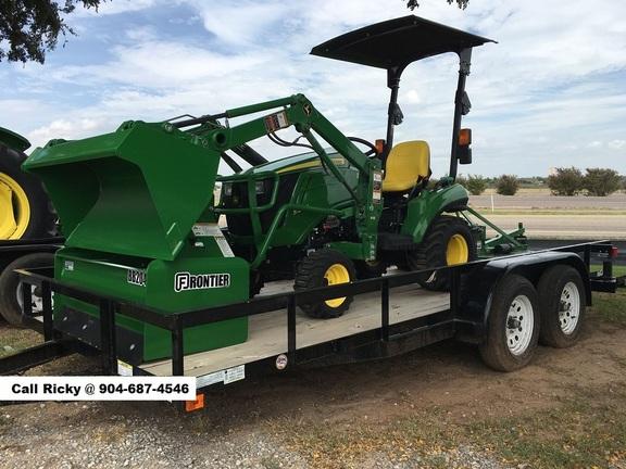 2021 John Deere 1025R Package Tractor
