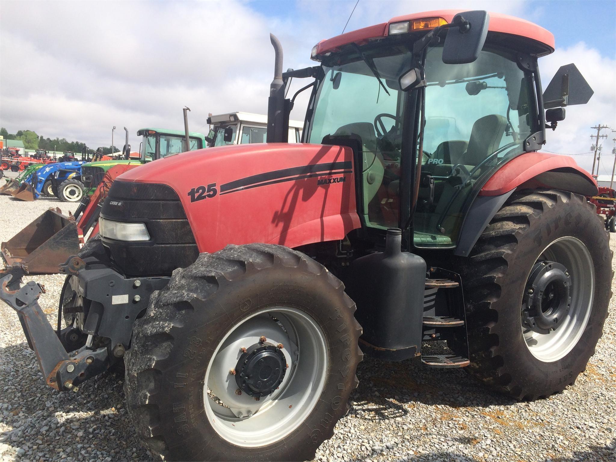 2009 Case IH Maxxum 125 Tractor