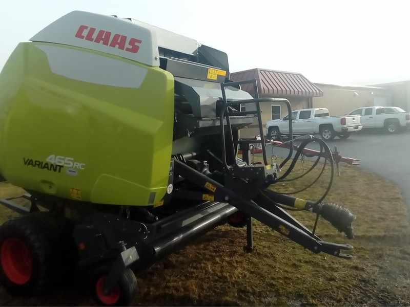 2017 Claas Variant 465RC Round Baler