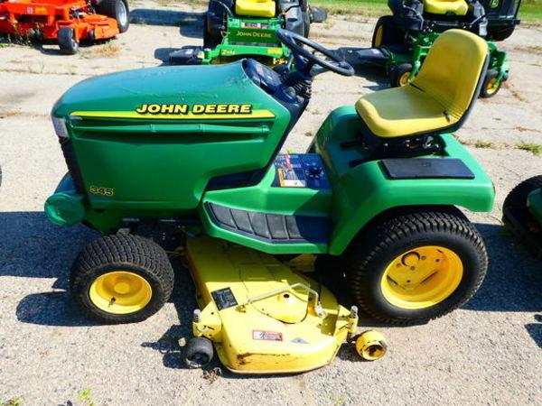 John Deere 345 >> 1994 John Deere 345 Lawn And Garden