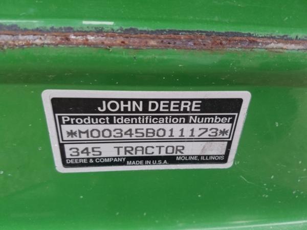 1994 John Deere 345 Lawn and Garden