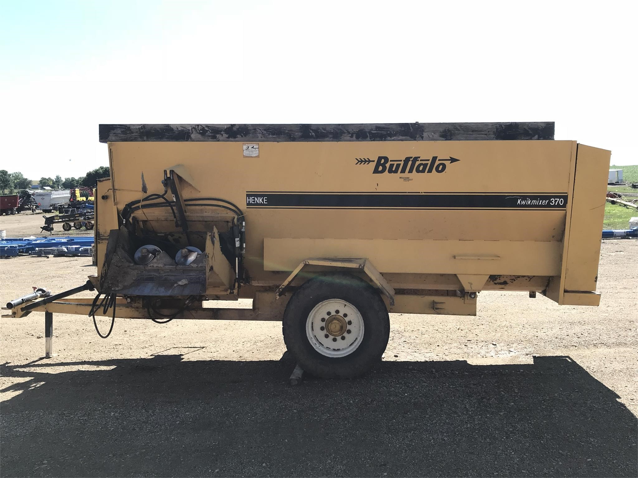 Buffalo 370 Grinders and Mixer