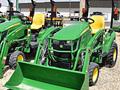 2015 John Deere 1023E Tractor