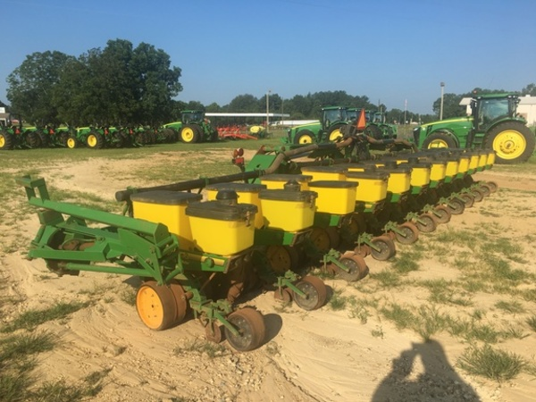 1995 John Deere 7300 Planter Blakely Georgia Machinery Pete