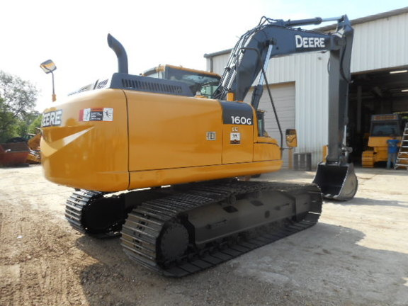 2012 Deere 160G LC Excavators and Mini Excavator