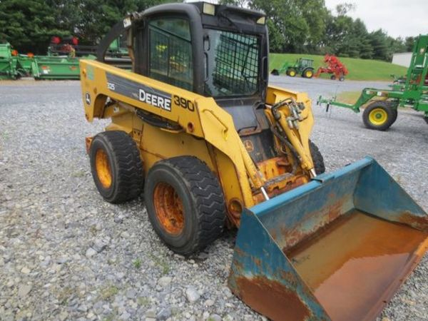 John Deere Skid Steer >> 2006 John Deere 325 Skid Steer Lancaster Pennsylvania Machinery