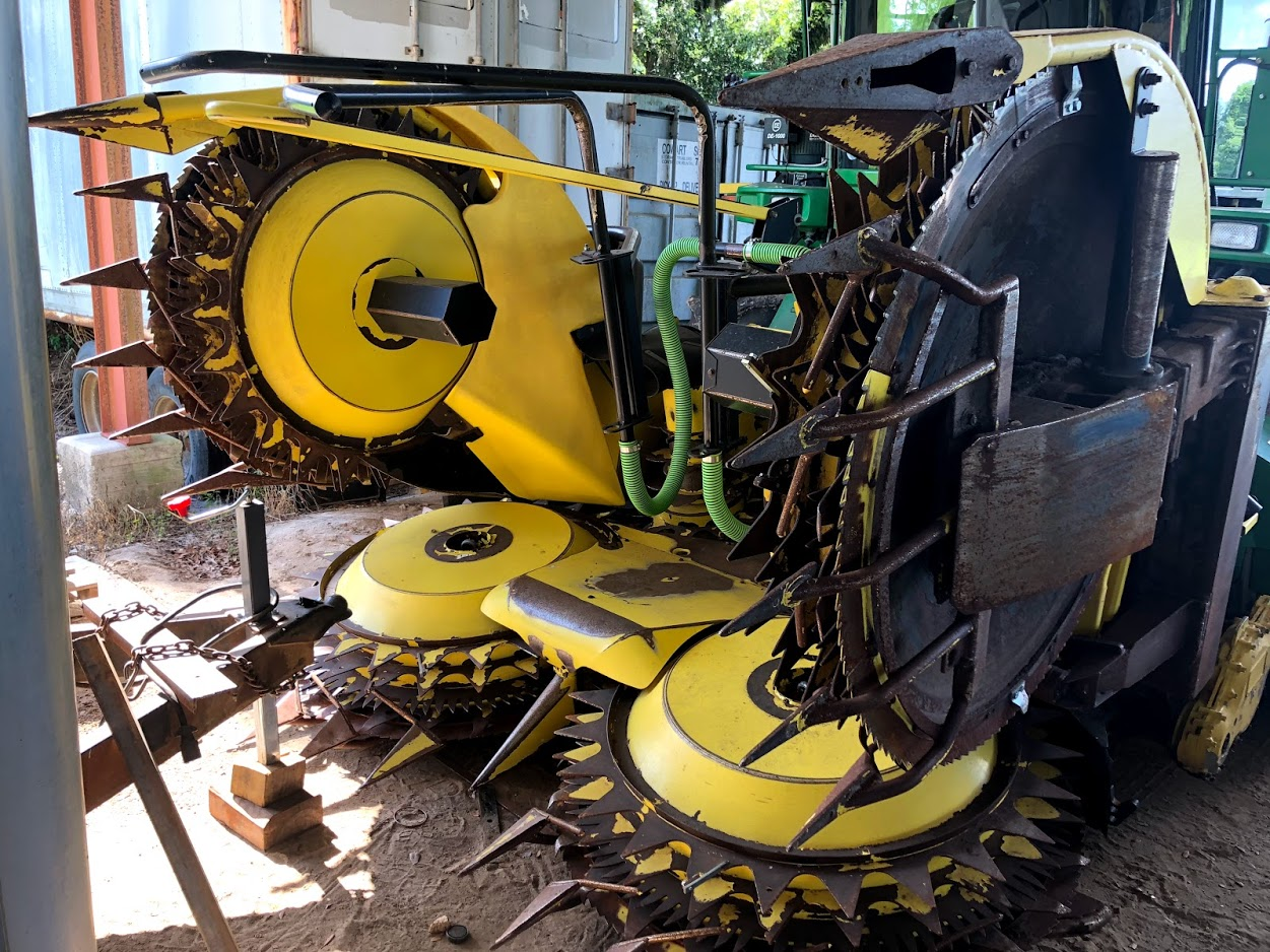 2014 John Deere 678 Forage Harvester Head