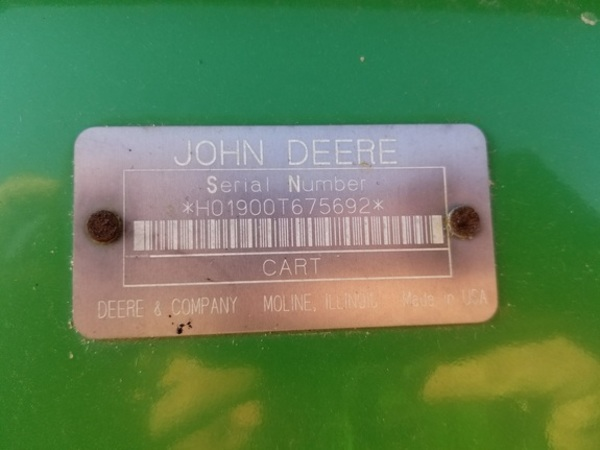 2015 John Deere 2510S Toolbar